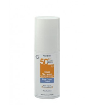 Frezyderm Sun Screen Face Cream Tinted Spf 50+ 50ml