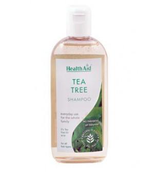 Health Aid Tea Tree Σαμπουαν Προληψη για Ψειρες 250ml