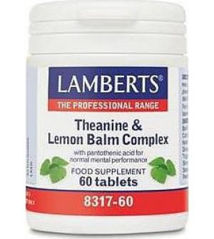 Lamberts Theanine & Lemon Baml Complex 60Tabs