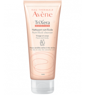 Avene Trixera Nutrition Nettoyant Nutri-Fluide 100ml