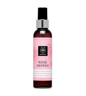 Apivita Rose Pepper Λάδι Μασάζ Αναδιαμορφωσης Σώματος Με Ρόζ Πιπέρι 150ml