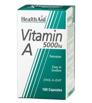Health Aid Vit A 5000Iu 100Caps