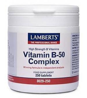 Lamberts Vitamin B-50 Complex 250Tabs