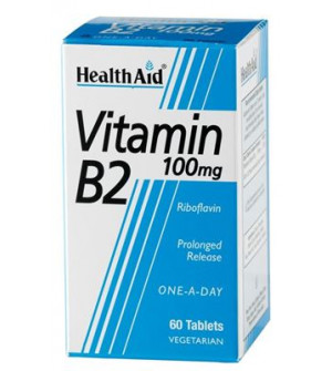 Health Aid Vit B2 100Mg 60Tabs