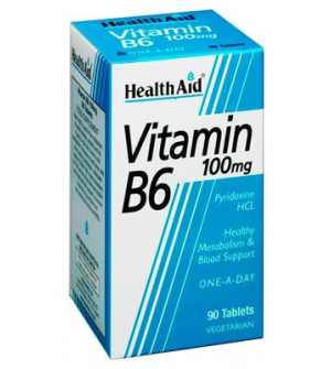 Health Aid Vit B6 100Mg 90Tabs