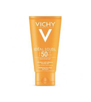 Vichy Ideal Soleil Αντηλιακό Για Το Πρόσωπο Για Μάτ Αποτέλεσμα SPF 50 - 50ml