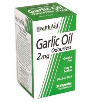 Health Aid Garlic Oil 2mg Αοσμο 30Caps